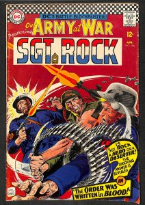 Our Army at War #166  Sgt Rock!