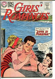 Girls' Romances #84 1962-DC Comics-swimsuit-love triangle-VG/FN