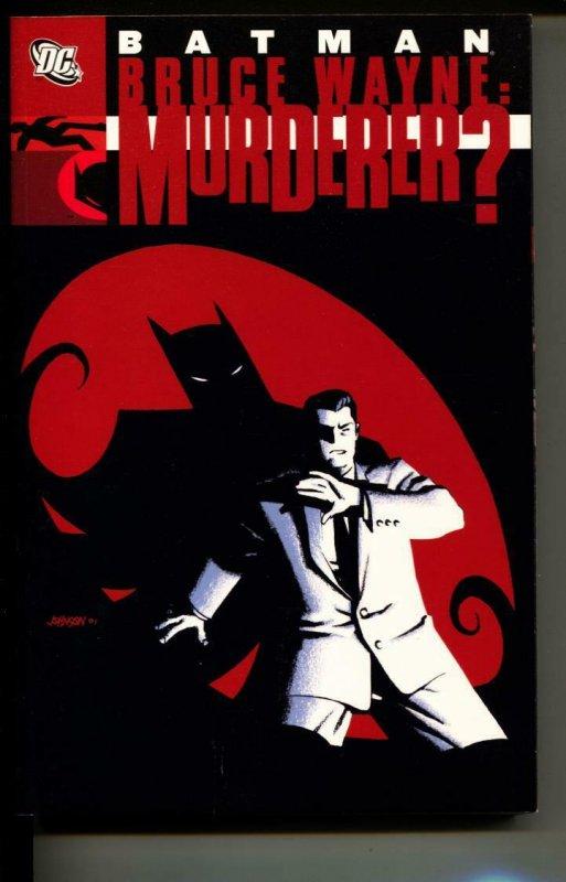 Batman Bruce Wanye: Murderer? TPB trade