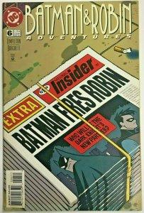 BATMAN & ROBIN ADVENTURES#6 VF 1996 DC COMICS
