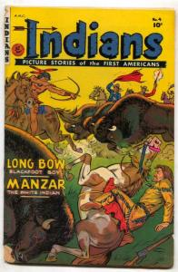 Indians #4 1950-Fiction House-Long Bow-Manzar-FAIR