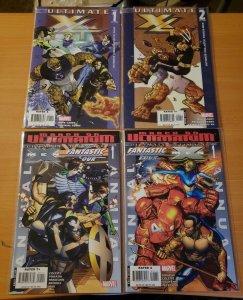Ultimate X4 1-2 + Annuals Complete Set Run! ~ NEAR MINT NM ~ 2006 Marvel Comics