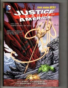 Survivors Of Evil V 2 Justice League DC Comics HARDCOVER Graphic Novel Book J370