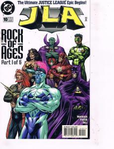 6 JLA DC Comic Books #10 11 12 13 14 15 Morrison Batman Superman Flash Arrow J87