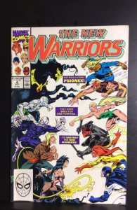 The New Warriors #4 (1990)