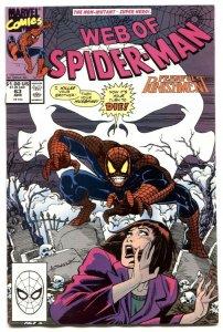 Web Of Spider-man #63 1990-Marvel Comics- VF/NM