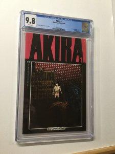 Akira 1 Cgc 9.8 Marvel/epic Publishing 1st Appearance Of Kaneda Tetsuo