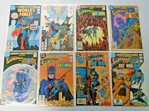 World's Finest Superman Batman lot #283-318 31 diff 6.0 FN (1982)