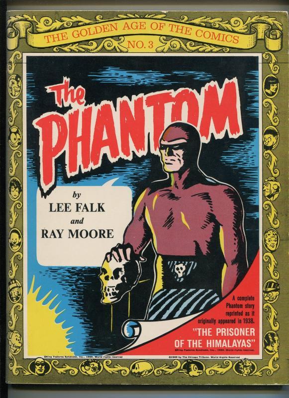 THE PHANTOM #3 1969-NOSTALGIA PRESS-PHANTOM REPRINTS-VIVID B & W-vf