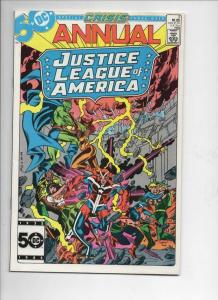 JUSTICE LEAGUE OF AMERICA #3, VF/NM, Crisis Crossover, DC 1985