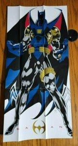 29 x 14 1993 DC Batman AZRAEL VALLEY Kelly Jones Promo Poster NEW