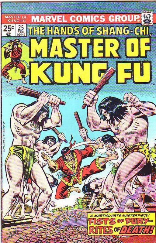 Master of Kung Fu, the Hands of Shang-Chi #25 (Feb-75) VF+ High-Grade Shang-Chi