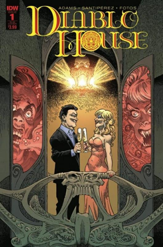 DIABLO HOUSE #1 B, NM, Horror, IDW, 2017 more in store