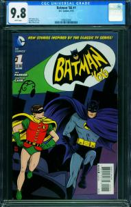 Batman '66 #1 CGC 9.8-First issue-2013 1998430001