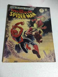 The Spectacular Spider-Man 2 Vg Very Good 4.0 Marvel 1968 Oversized
