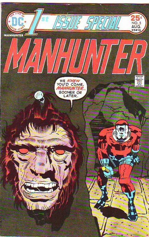 First Issue Special #5 (Aug-75) VF+ High-Grade Manhunter