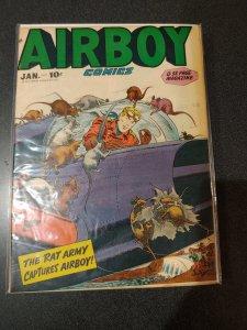 Airboy Comics #Vol. 5 #12  1949 FINE+