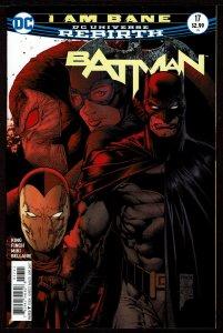 Batman #17 Rebirth (Apr 2017, DC) 0 9.2 NM-