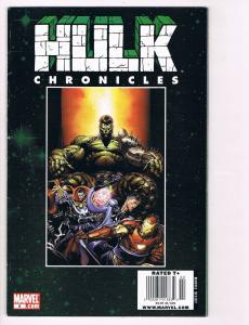 Hulk Chronicles # 5 Marvel Comic Books Hi-Res Scans Modern Age Great Issue!! S5