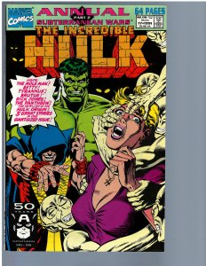 The Incredible Hulk Annual #17 (1991) NM