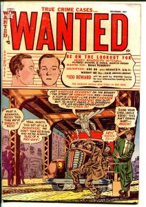 Wanted #43 1952-Toytown Pubs-pre-code crime-murder-violence-FN-