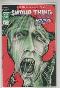 SWAMP THING (1972 DC Comics) #81 NM