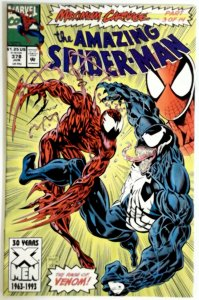 Amazing Spider Man 378 Venom Marvel Comic Unread  NM Near Mint  Maximum Carnage