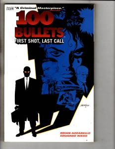 100 Bullets: First Shot Last Call Vol. # 1 DC Vertigo Comic Book Graphic No. JS1