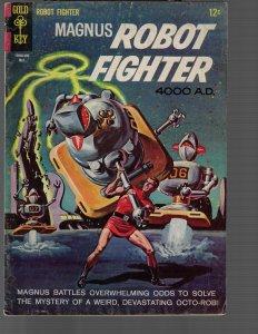 Magnus Robot Fighter #10 (Dell, 1965) FN-