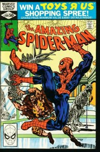 AMAZING SPIDER-MAN #209-1980-MARVEL-fine FN
