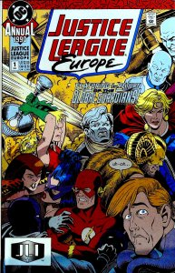 Justice League Europe Annual #1 (1990)