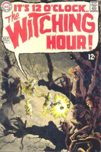 Witching Hour #3 (ungraded) stock photo