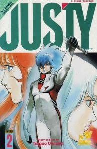 Justy #2 VF/NM; Viz | save on shipping - details inside