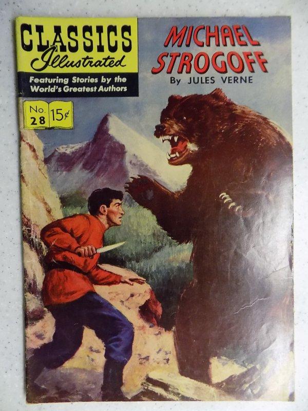 Classics Illustrated #4 (1942) HRN 115