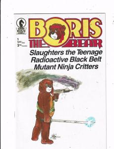 Lot of 5 Boris the Bear Dark Horse Comic Books #1 2 3 4 5 MS18