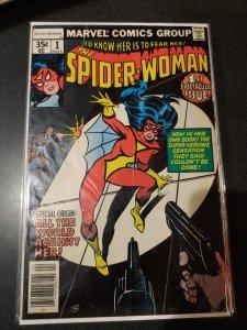 SPIDER-WOMAN #1 BRONZE AGE CLASSIC