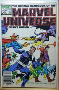 The Official Handbook of the Marvel Universe #4 (1985)
