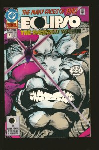 DC Comics Eclipso The Darkness Within No 1 1992