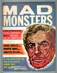 MAD MONSTERS #9-1964-VINCENT PRICE-GOLIATH AND THE VAMPIRES-PIX & INFO-CHA VG