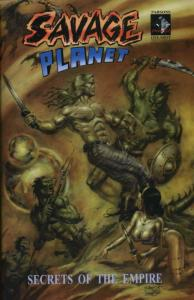Savage Planet: Secrets of the Empire #1 VF/NM; Amryl | save on shipping - detail