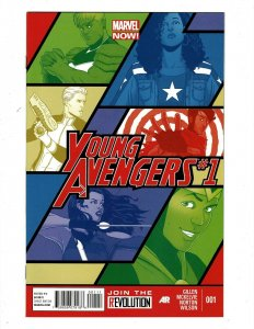Lot Of 12 Young Avengers Marvel Comic Books # 1 2 3 4 5 6 7 8 9 10 11 12 HR8