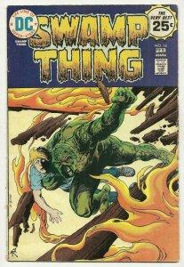 SWAMP THING #14, VG+, Horror, 1972 1975, Tomorrow Children, Redondo