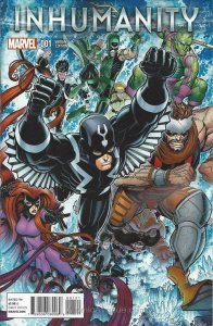 Inhumanity #1A VF/NM; Marvel | save on shipping - details inside