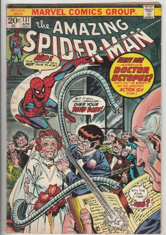 Amazing Spider-Man #131 (Apr-74) VG/FN+ Mid-Grade Spider-Man