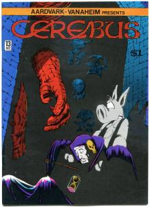 CEREBUS the AARDVARK #13, VF, Dave Sim, 1977, more in store, QXT