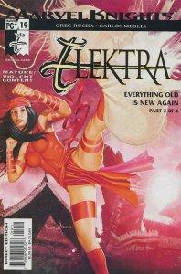 Elektra (3rd Series) #19 VF/NM; Marvel   save on shipping - details inside