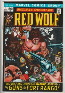 Red Wolf #1 (May-72) NM- High-Grade Red Wolf, Lobo
