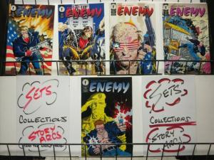 ENEMY (1994 DH)   1-5  Steven Grant THE SET!