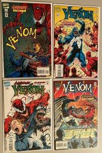 Venom carnage set:#1-4 avg 8.0 VF (1995)