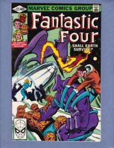 Fantastic Four #221 NM- Marvel 1980